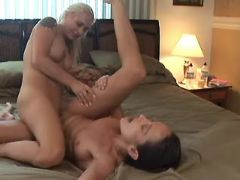 Depraved lesbians play with pussies
